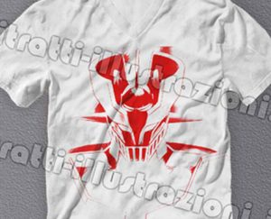 Super robots in t-shirt