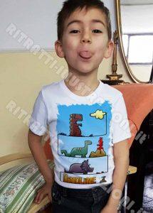 dinoline: magliette illustrate per bambini
